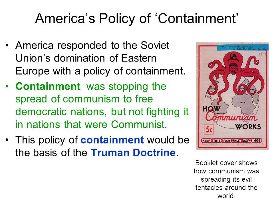 America's Policy of 'Containment'
