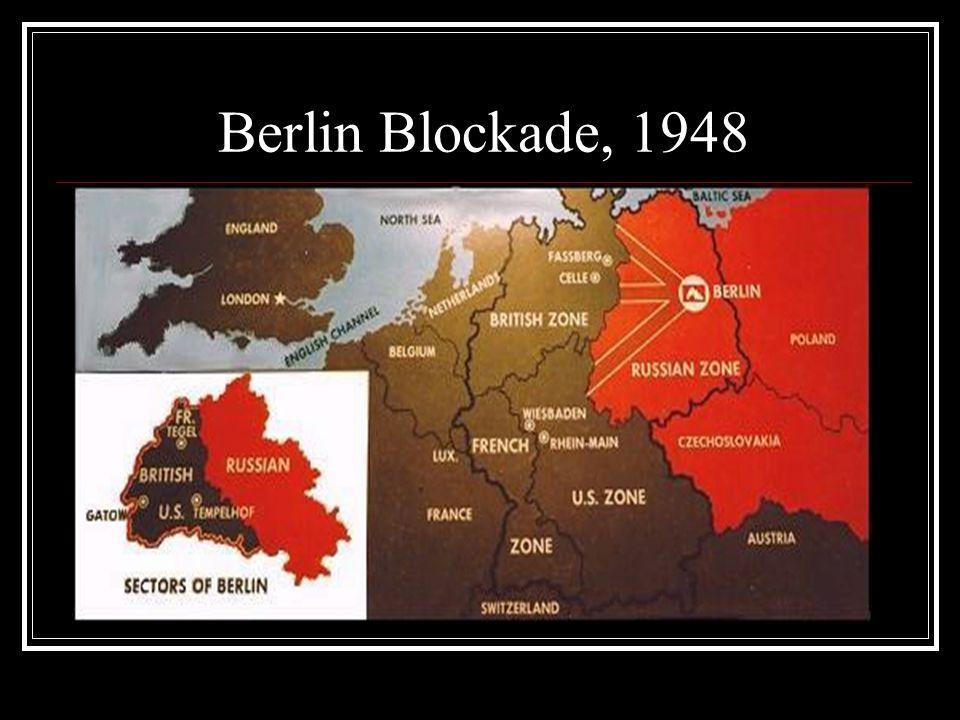 Berlin Blockade, 1948