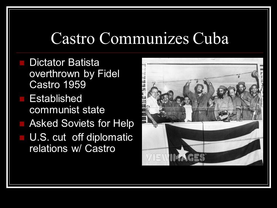 Castro Communizes Cuba