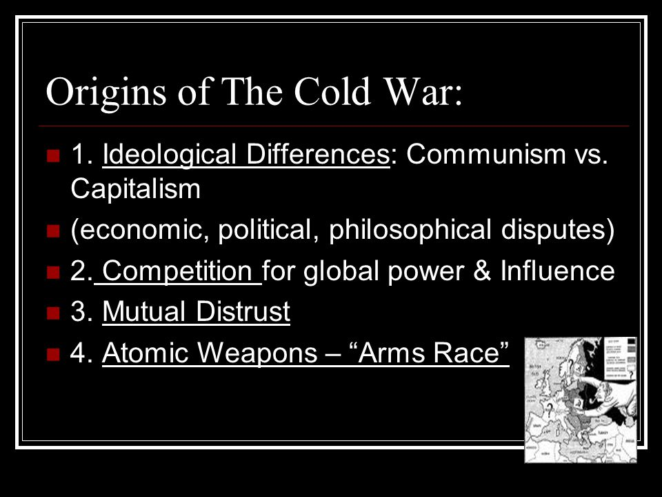 Origins of The Cold War: