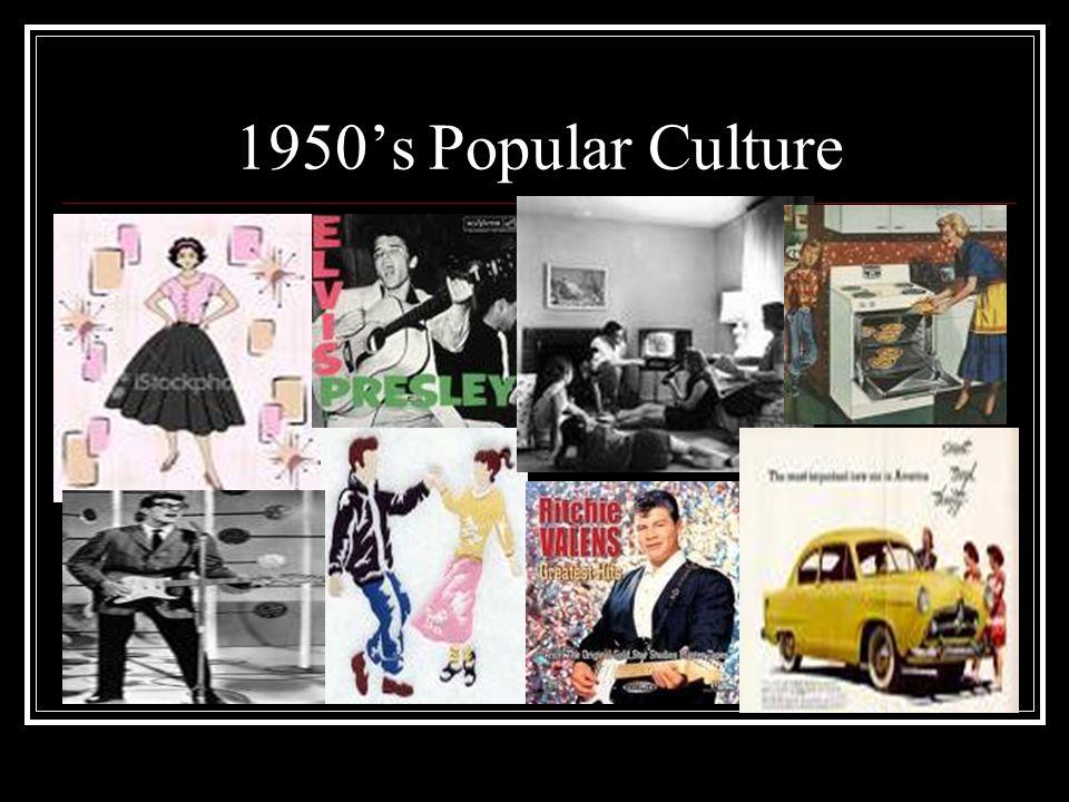 1950's Popular Culture