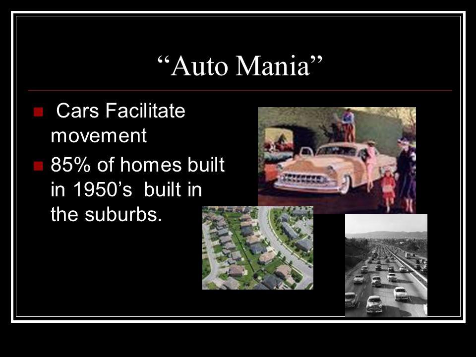 Auto Mania Cars Facilitate movement