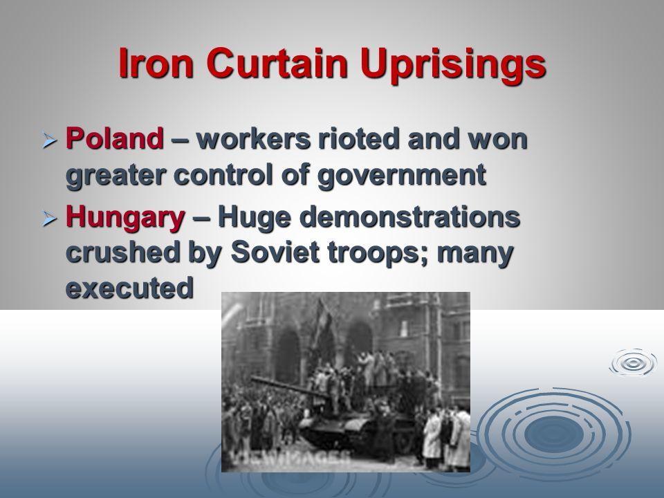 Iron Curtain Uprisings