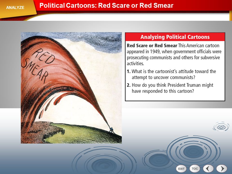 Political Cartoons: Red Scare or Red Smear