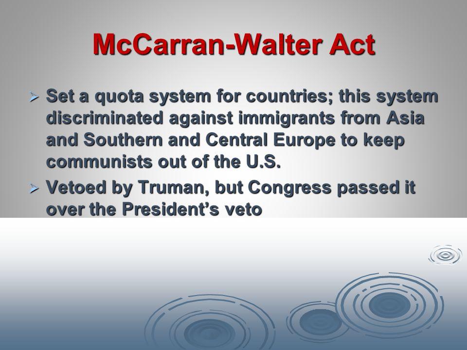 McCarran-Walter Act