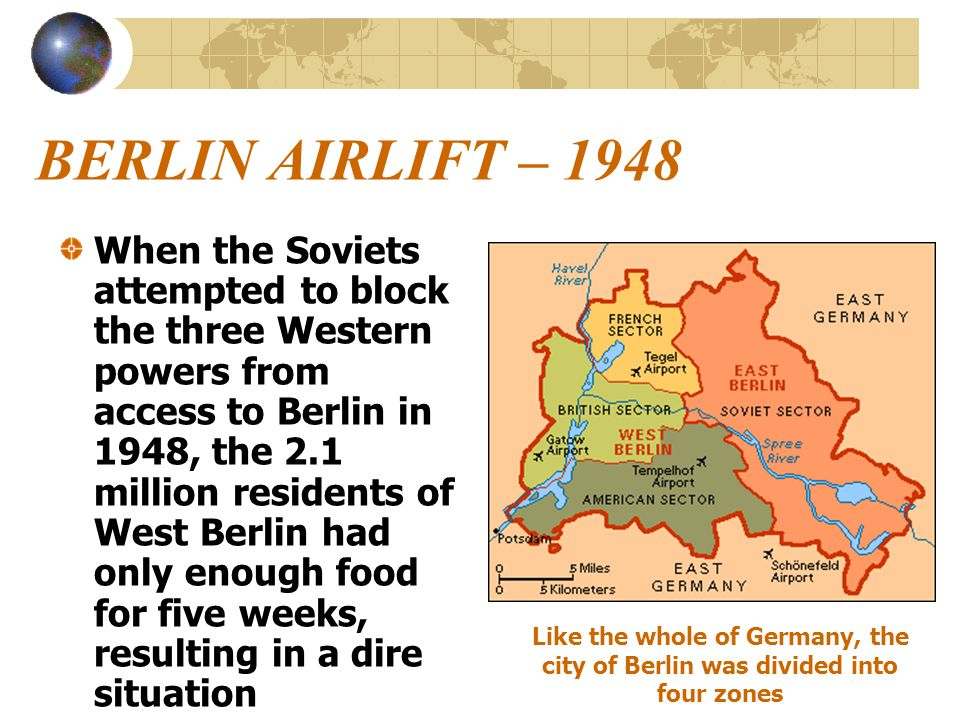 BERLIN AIRLIFT – 1948