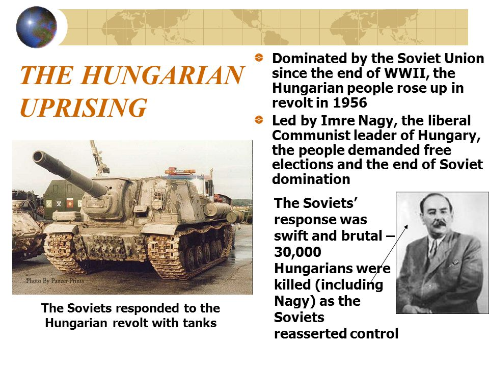 THE HUNGARIAN UPRISING