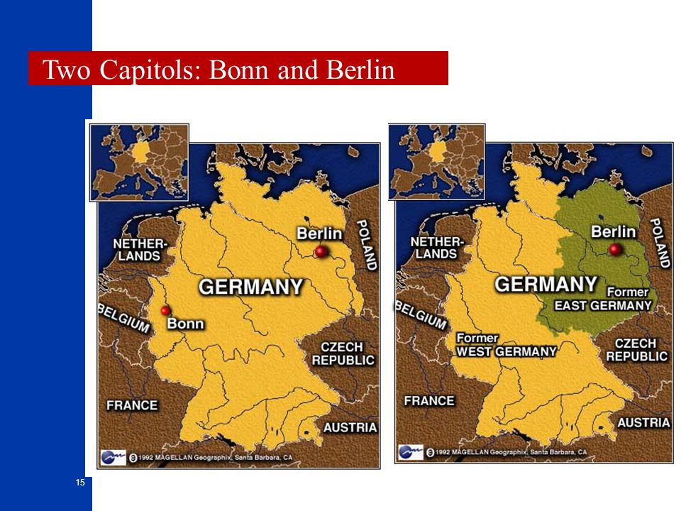 Two Capitols: Bonn and Berlin