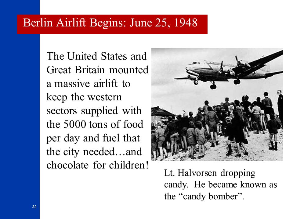 Berlin Airlift Begins: June 25, 1948