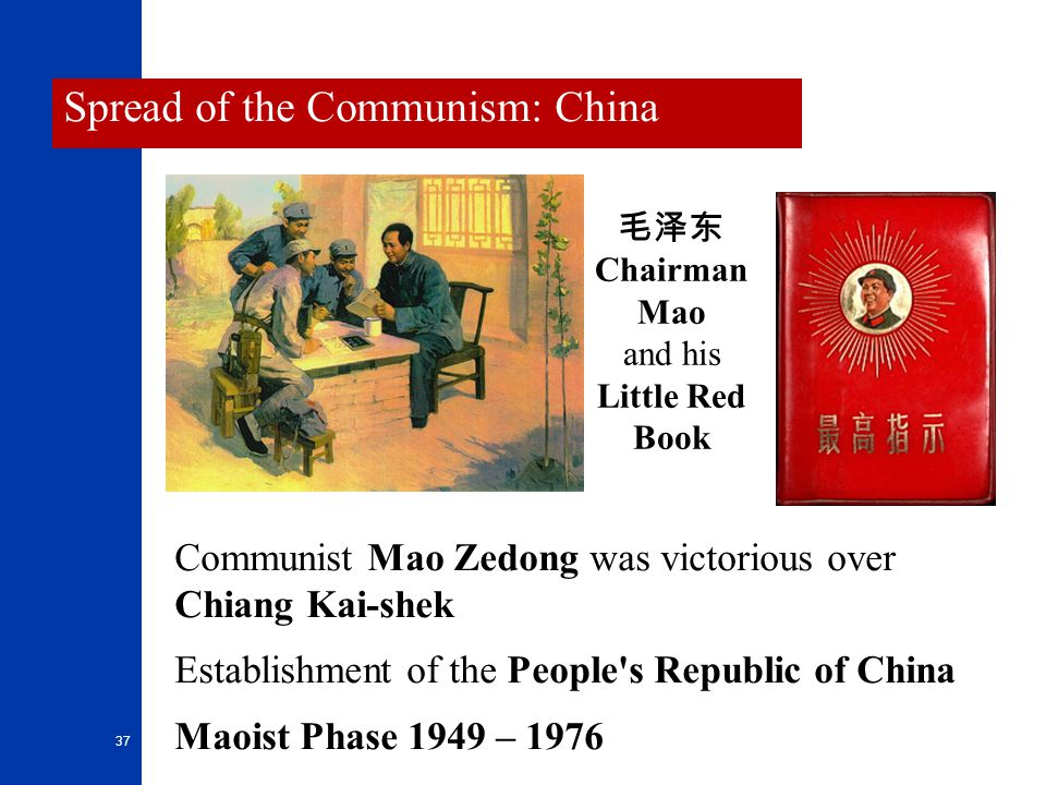 Spread of the Communism: China
