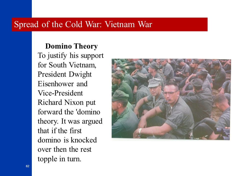 Spread of the Cold War: Vietnam War