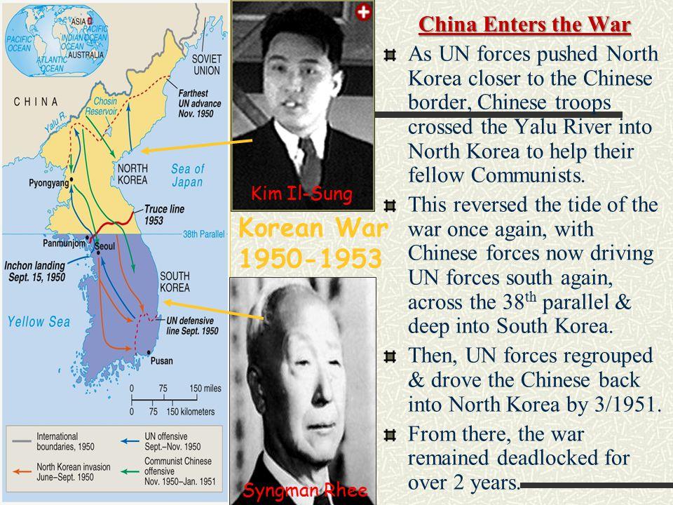 Korean War 1950-1953 China Enters the War