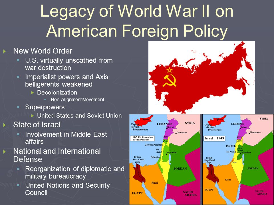 U.S. COLD WAR FOREIGN POLICY – CONTAINMENT