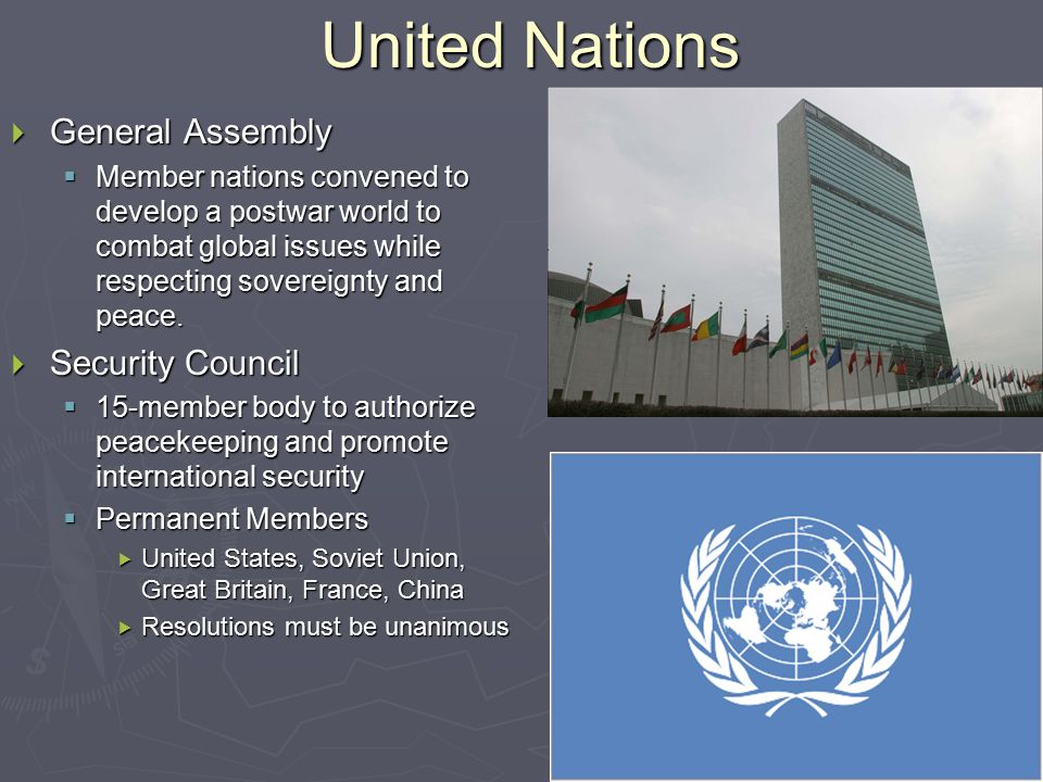 United Nations General Assembly Security Council
