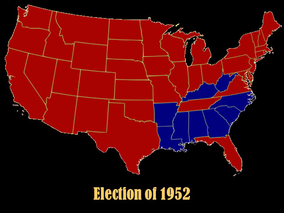 Election of 1952 Election 1952