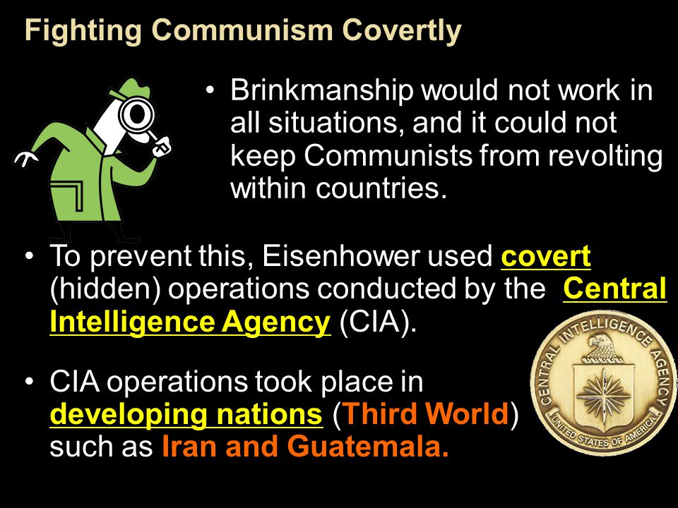 Fighting Communism Covertly