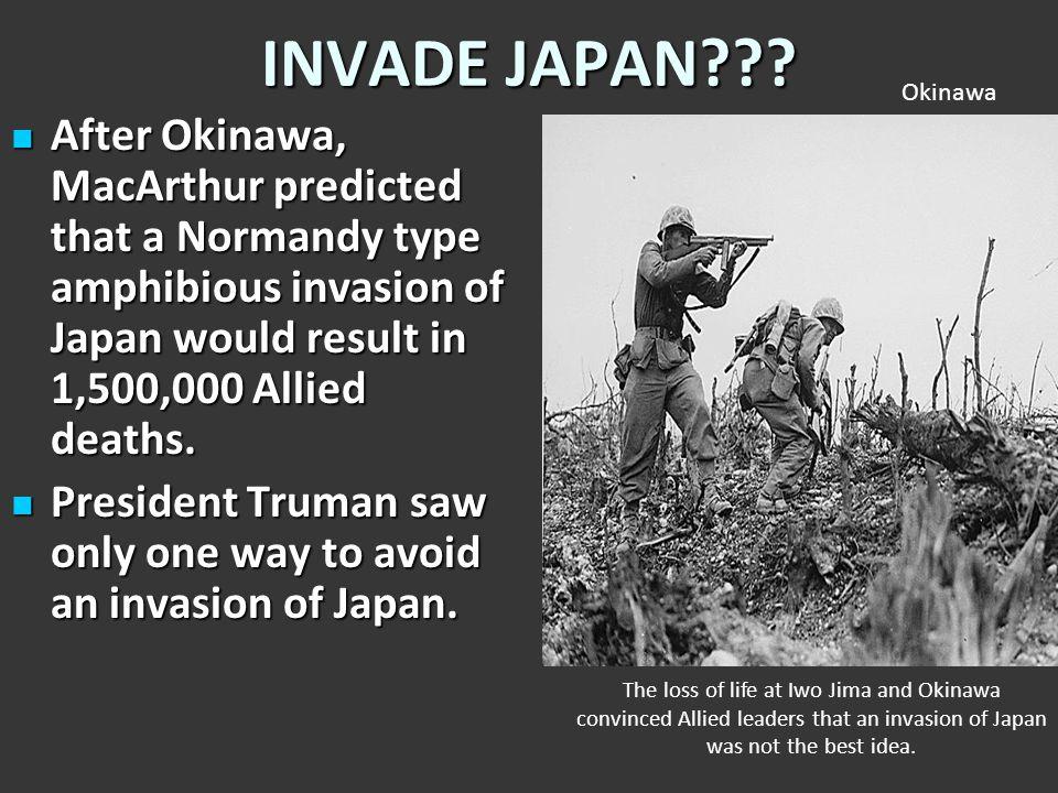INVADE JAPAN Okinawa.