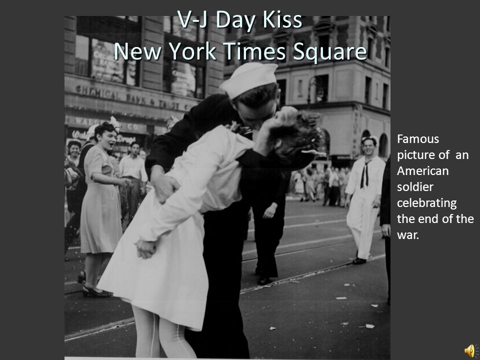 V-J Day Kiss New York Times Square