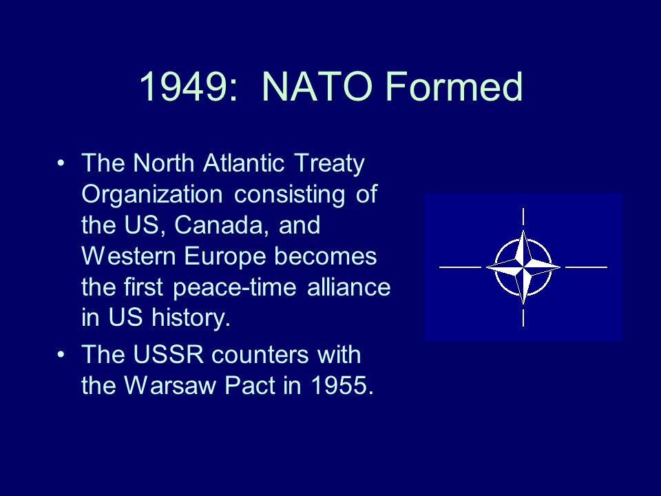1949: NATO Formed