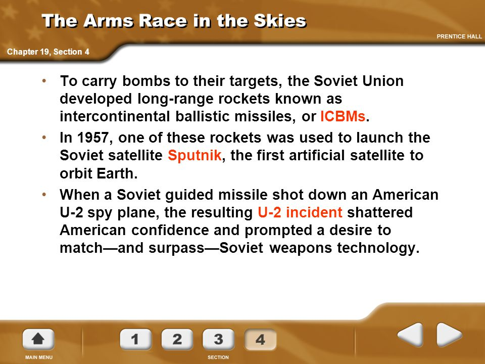 The Arms Race in the Skies