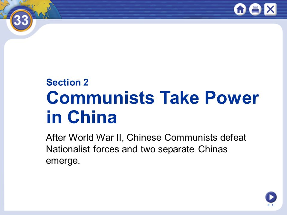 Communists Take Power in China