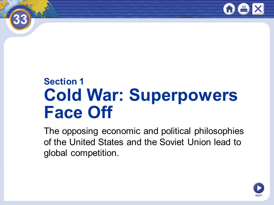 Cold War: Superpowers Face Off