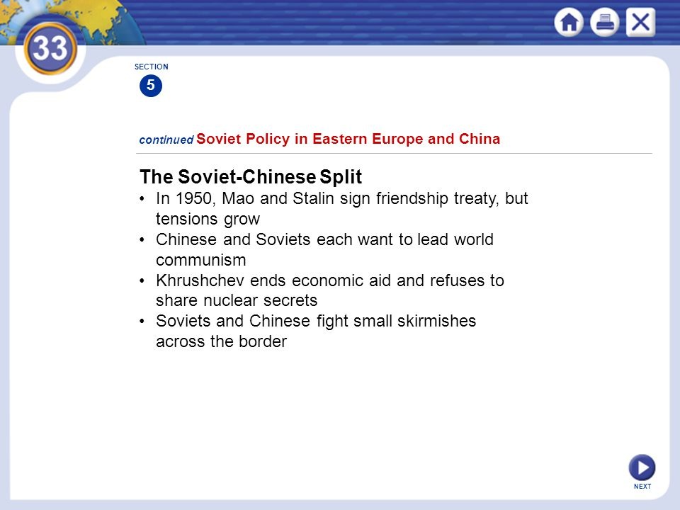 The Soviet-Chinese Split