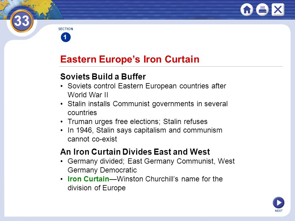 Eastern Europe's Iron Curtain