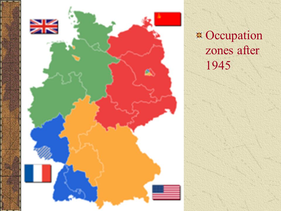 Occupation zones after 1945