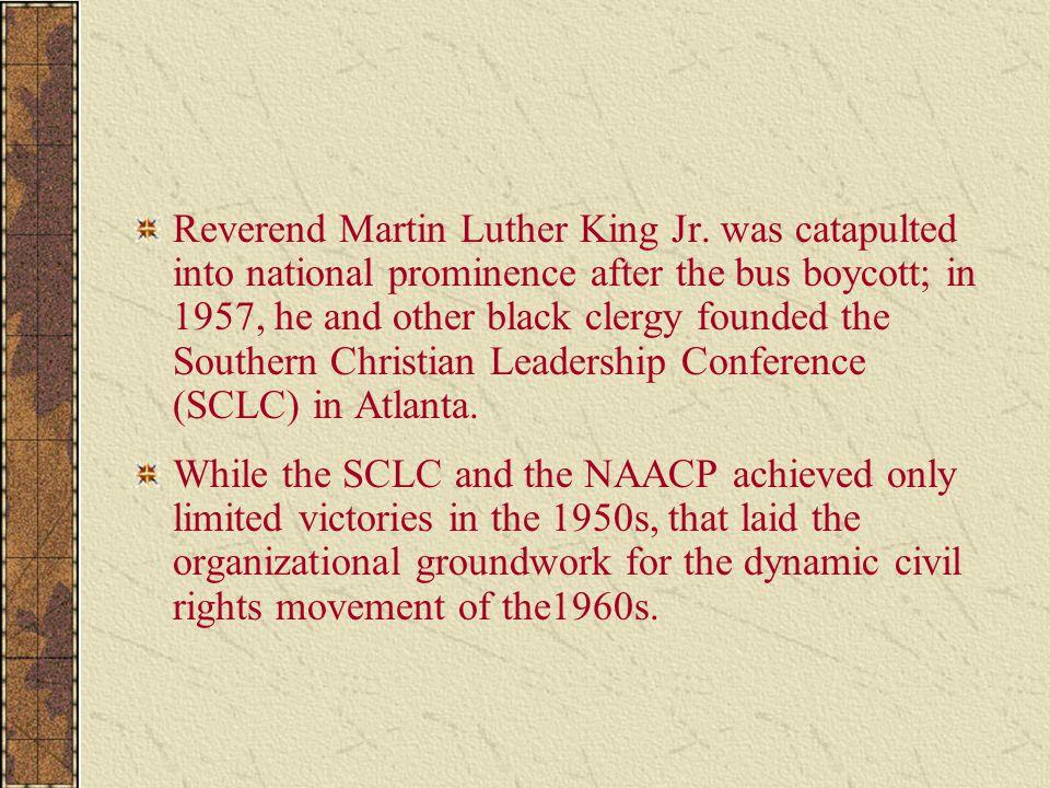 Reverend Martin Luther King Jr