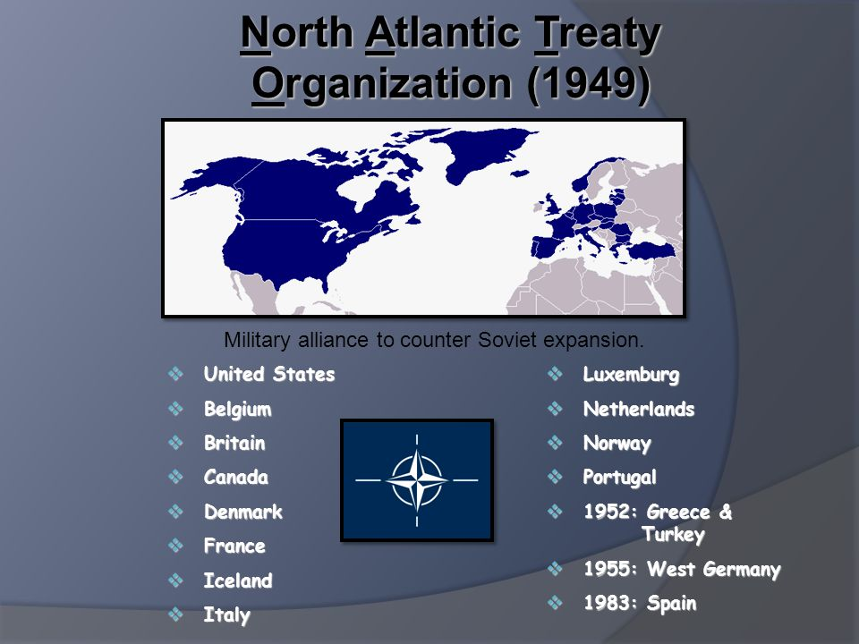 North Atlantic Treaty Organization (1949)