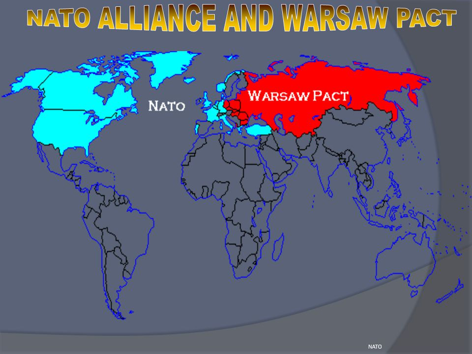 NATO ALLIANCE AND WARSAW PACT