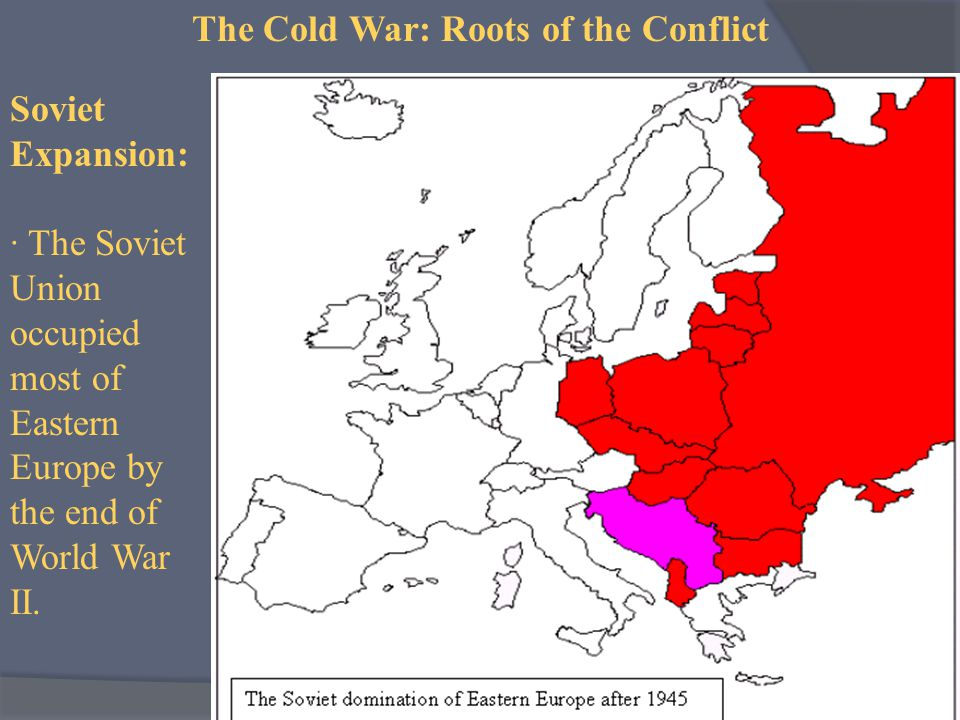 us and ussr relationship after ww2 europe