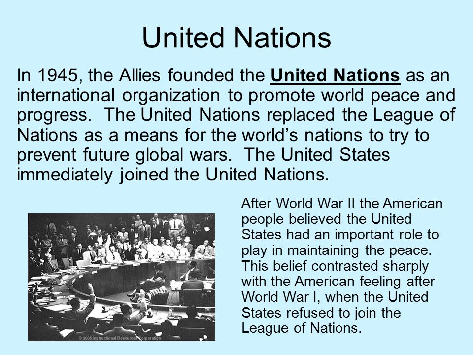 role of united states in world Or perhaps they take it for granted and have lost sight of the essential role the united states plays in  which has made the united states one of the world.
