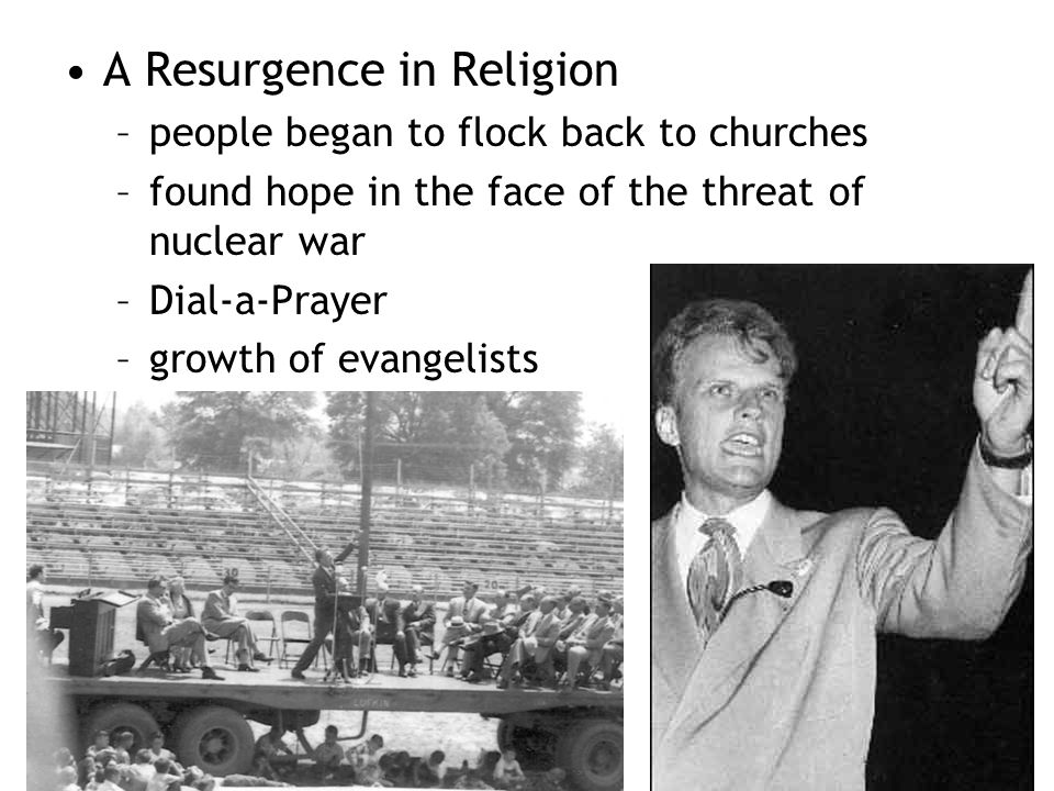 A Resurgence in Religion