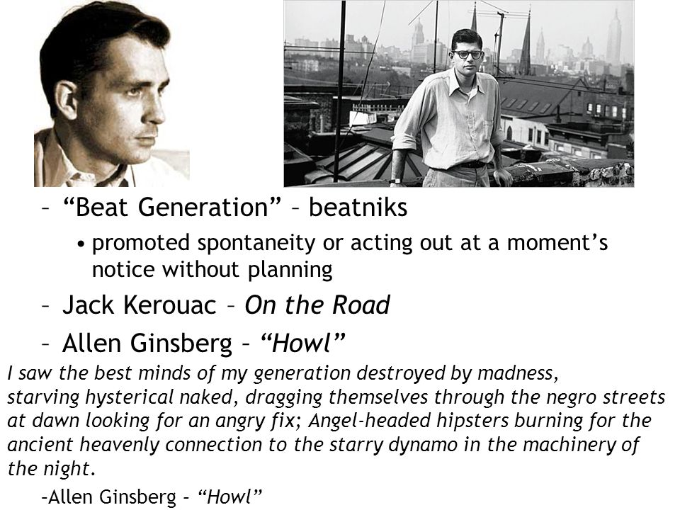 Beat Generation – beatniks