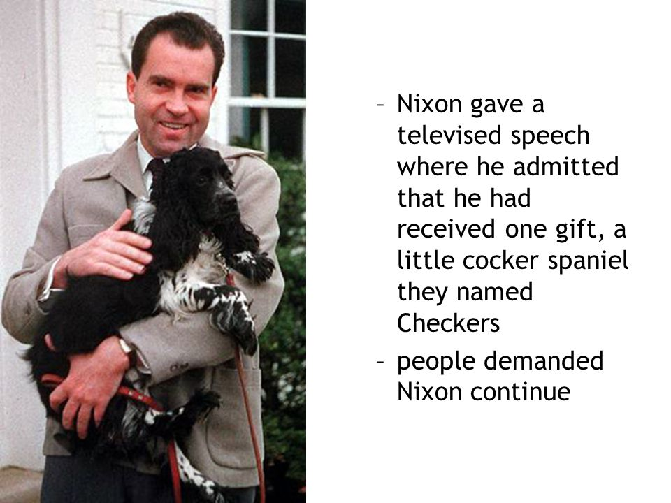 people demanded Nixon continue
