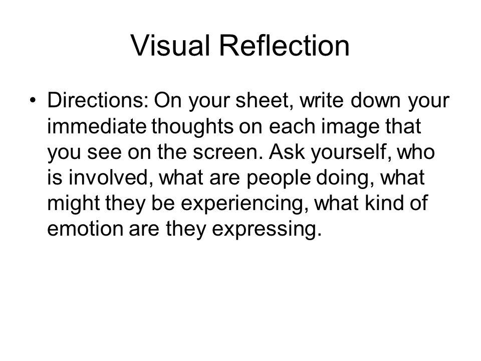 Visual Reflection