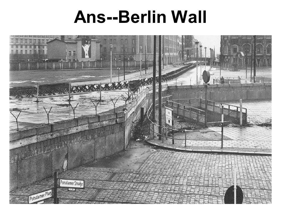 Ans--Berlin Wall