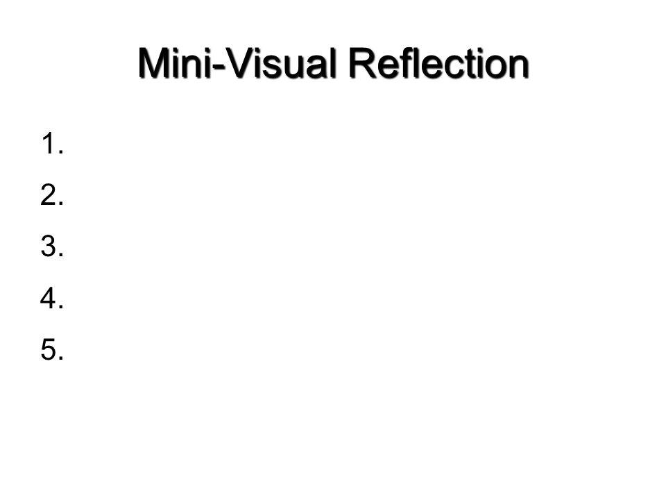 Mini-Visual Reflection
