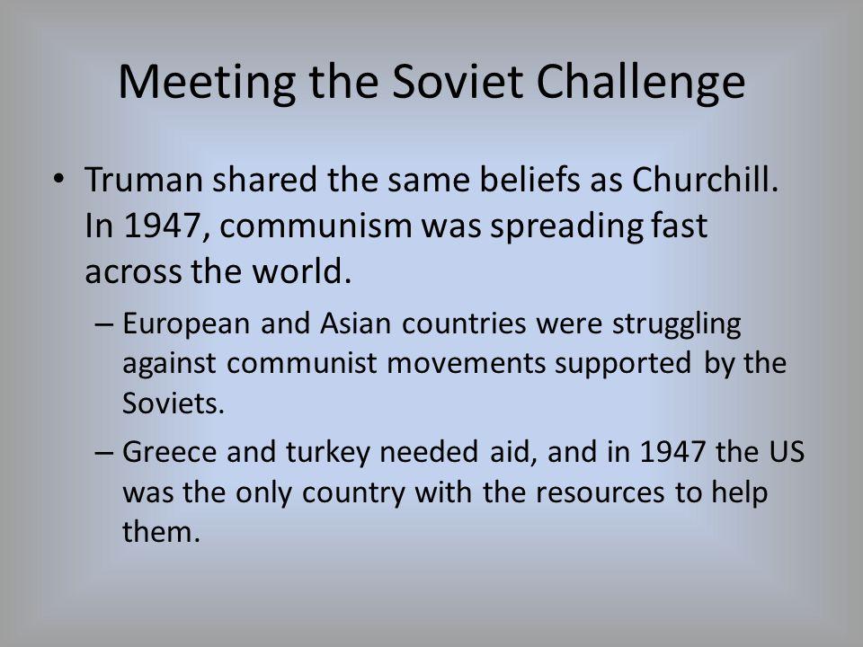 Meeting the Soviet Challenge