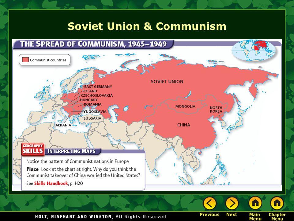 Soviet Union & Communism
