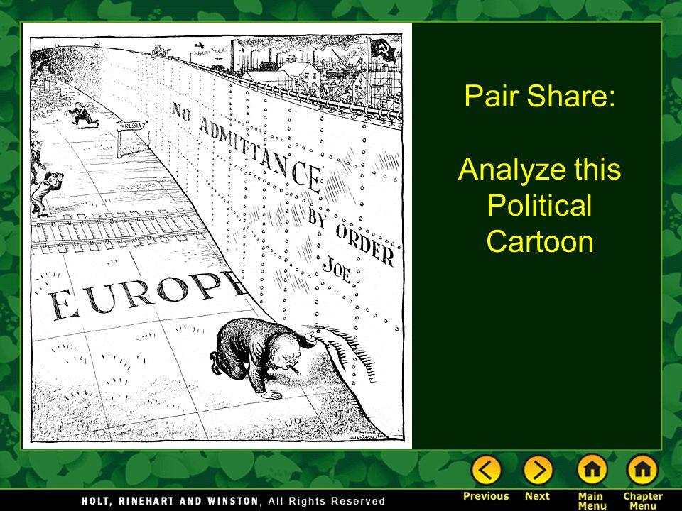 Analyze this Political Cartoon