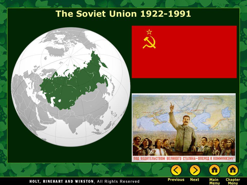 The Soviet Union 1922-1991