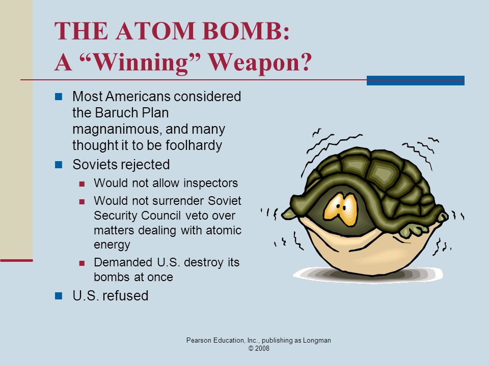 THE ATOM BOMB: A Winning Weapon