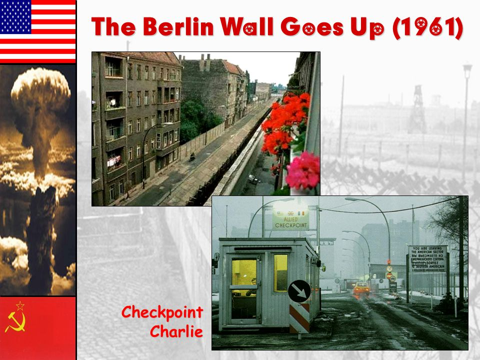 The Berlin Wall Goes Up (1961)