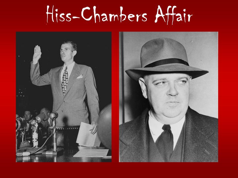Hiss-Chambers Affair