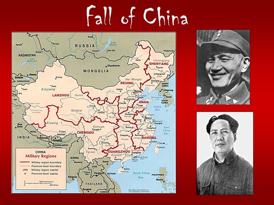 Fall of China