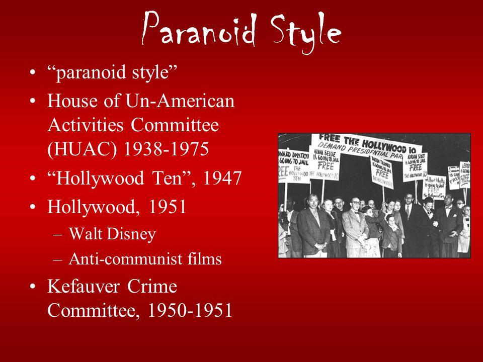 Paranoid Style paranoid style