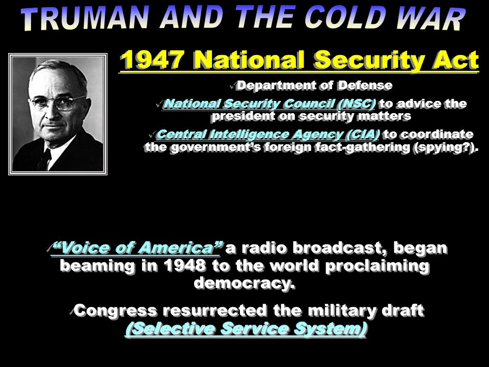 Congress resurrected the military draft (Selective Service System)